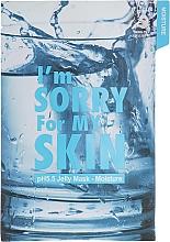 Perfumería y cosmética Mascarilla facial de tejido hidratante con extracto de hamamelis - Ultru I'm Sorry For My Skin pH5.5 Jelly Mask Moisture