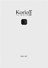 Perfumería y cosmética Korloff Paris Korloff In White - Set (eau de toilette/88ml + gel de ducha/150ml)