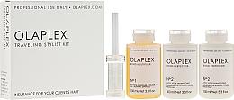 Perfumería y cosmética Kit protector post tratamiento químico de cabello, formato viaje - Olaplex Traveling Stylist Kit