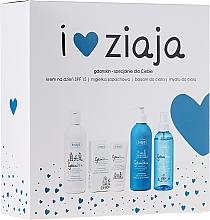Perfumería y cosmética Set - Ziaja GdanSkin (crema/50ml + spray/200ml + bálsamo corporal/300ml + jabón de glicerina/300ml)