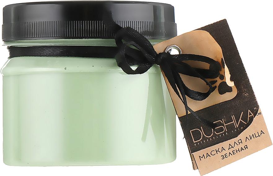 Mascarilla facial con arcilla, aceite esencial de árbol de té y romero - Dushka