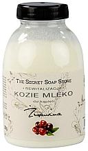 Perfumería y cosmética Leche de burra para baño - The Secret Soap Store Cranberry Goat Milk