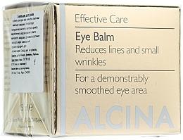 Perfumería y cosmética Bálsamo antiarrugas para contorno de ojos - Alcina E Eye Balm