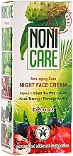 Perfumería y cosmética Crema de noche rejuvenecedora con escualano y aceite de coco - Nonicare Deluxe Night Face Cream