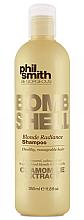 Perfumería y cosmética Champú para cabello rubio con extracto de camomila - Phil Smith Be Gorgeous Bombshell Blonde Radiance Shampoo