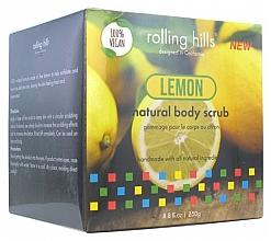 Perfumería y cosmética Exfoliante corporal natural, limón - Rolling Hills Gommage Corps Naturel