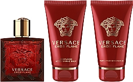 Perfumería y cosmética Versace Eros Flame - Set (eau de parfum/50ml + gel de ducha/50ml + bálsamo after shave/50ml)