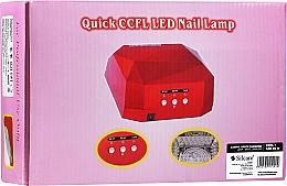 Perfumería y cosmética Lámpara LED/UV - Silcare Diamond LED CCFL UV 36W Lamp White