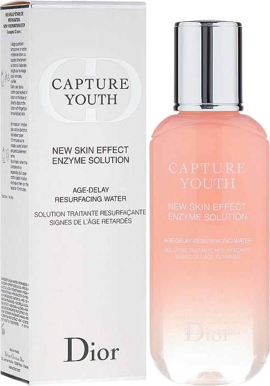 Loción en solución enzimática para rostro con papaya - Dior Capture Youth New Skin Effect Enzyme Solution