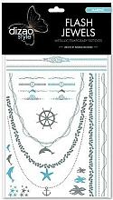 Perfumería y cosmética Tatuajes flash, Mar - Dizao Flash Jewels