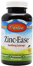 Perfumería y cosmética Complemento alimenticio de Zinc con sabor a limón, en cápsulas 10mg - Carlson Labs Zinc-Ease