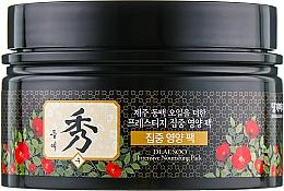 Perfumería y cosmética Mascarilla capilar reparadora para cabello muy dañado con extracto de artemisia y aceite de argán - Daeng Gi Meo Ri Dlae Soo Nourishing Pack
