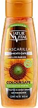 Perfumería y cosmética Mascarilla para cabello teñido rubio - Natur Vital Coloursafe Henna Hair Mask Blonde Hair