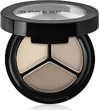 Perfumería y cosmética Sombra de ojos tricolor - Paese Triple Eyeshadows Trio Matt