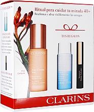 Perfumería y cosmética Set - Clarins Extra-Firming Yeux Set (sérum/15ml+desmaquillante/30ml+máscara/3ml)