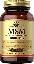 Perfumería y cosmética Complemento alimenticio en cápsulas de Metilsulfonilmetano - Solgar MSM 1000 Mg