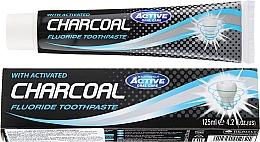 Perfumería y cosmética Pasta dental con flúor & carbón activado - Beauty Formulas Charcoal Activated Fluoride Toothpaste