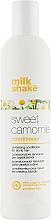 Perfumería y cosmética Acondicionador reparador para cabello fino y claro con extracto de camomila - Milk Shake Sweet Camomile Conditioner