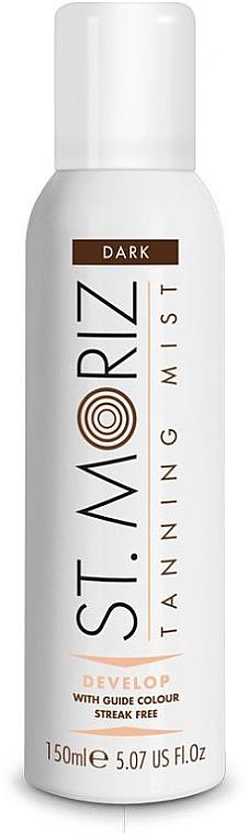 Bruma corporal y facial autobronceadora con leche de oliva y vitamina E - St. Moriz Self Tanning Mist Dark