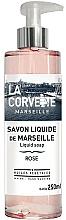 Perfumería y cosmética Jabón de manos líquido con rosa - La Corvette Rose Liquid Soap