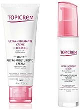 Perfumería y cosmética Set facial (crema/40ml+sérum/7ml) - Topicrem Skin Care Gift Set