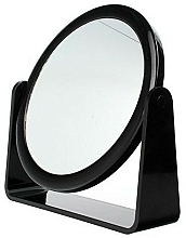 Perfumería y cosmética Espejo cosmético de doble cara, 85055, negro - Top Choice