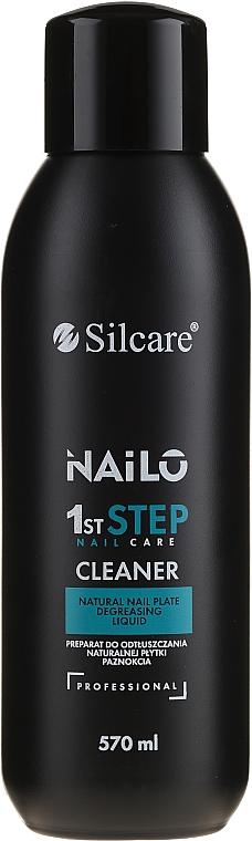 Jabón de manos líquido con extracto de cactus orgánico y aceite de opuncia - Silcare Nailo 1st Step Nail Cleaner