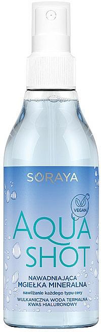Agua micelar mineral con ácido hialurónico - Soraya Aquashot