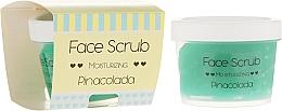 Perfumería y cosmética Exfoliante para rostro y labios con aceite de coco - Nacomi Moisturizing Face&Lip Scrub Pinacolada