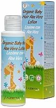 Perfumería y cosmética Loción orgánica para cabello de bebés con aloe vera - Azeta Bio Organic Baby Hair Aloe Vera Lotion