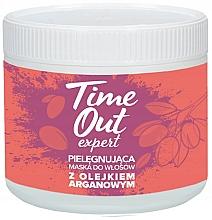 Perfumería y cosmética Mascarilla capilar con aceite de argán - Time Out