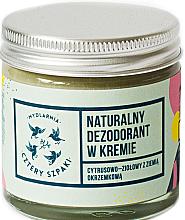 Perfumería y cosmética Desodorante en crema natural de cítricos y hierba - Cztery Szpaki