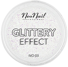 Perfumería y cosmética Brillo para decoración de uñas efecto glitter - NeoNail Professional Glittery Effect