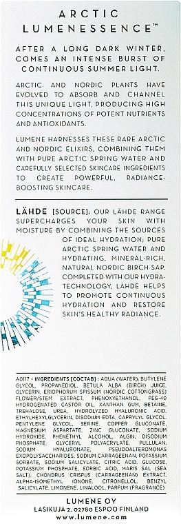 Sérum facial con ácido hialurónico y aceite de ricino - Lumene Artic Dew Serum — imagen N3