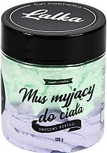 Perfumería y cosmética Mousse corporal limpiador, cóctel de frutas - Lalka