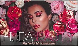 Perfumería y cosmética Paleta de sombras de ojos - Huda Beauty Rose Gold Palette