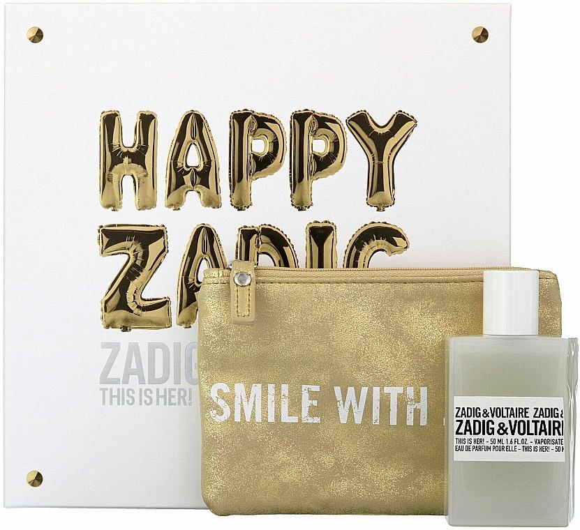 Zadig & Voltaire This is Her - Set (eau de parfum/50ml + neceser)