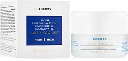 Perfumería y cosmética Crema de noche regeneradora con yogur griego - Korres Greek Yogurt Cream