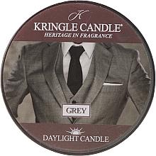 Perfumería y cosmética Vela perfumada con aroma a almizcle & pachulí - Kringle Candle Grey Daylight