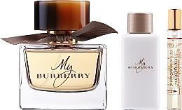 Perfumería y cosmética Burberry My Burberry - Set (eau de parfum/90ml + loción corporal/75ml + eau de parfum/mini/7,5ml)