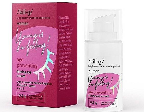 Crema reafirmante para el contorno de ojos - Kili·g Woman Age Preventing Eye Cream