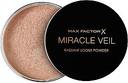 Perfumería y cosmética Polvo facial fijador suelto, translúcido - Max Factor Miracle Veil Radiant Loose Powder