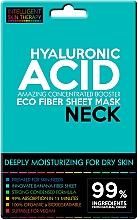 Perfumería y cosmética Mascarilla de tejido hidratante para cuello con ácido hialurónico para pieles secas - Beauty Face IST Extremely Moisturizing Booster Neck Mask Hyaluronic Acid