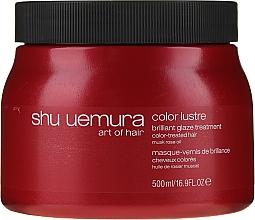 Perfumería y cosmética Mascarilla para cabello teñido - Shu Uemura Art Of Hair Color Lustre Treatment