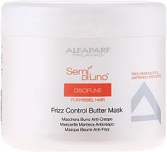 Perfumería y cosmética Mascarilla capilar con mantenca antiencrespamiento - Alfaparf Semi di Lino Discipline Frizz Mask
