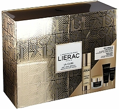 Perfumería y cosmética Set facial (tratamiento/30ml+ crema/15ml+ mascarilla/10ml+ crema contorno de ojos/3ml) - Lierac Premium La Cure Anti-Age Absolute Kit