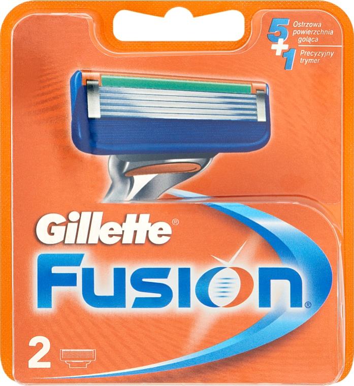 Recambios de cuchillas, 2uds. - Gillette Fusion
