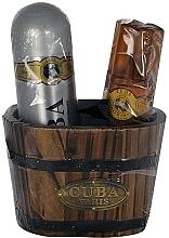Perfumería y cosmética Cuba Gold - Set (loción aftershave/100ml + desodorante/200ml)