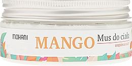 Perfumería y cosmética Mousse corporal con aceites de coco y almendra dulce - Mohani Natural Mango Mousse