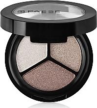 Perfumería y cosmética Sombras de ojos tricolor en polvo compacto con efecto mate - Paese Triple Eyeshadows